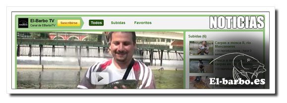 ElBarbo TV, pesca a mosca en Youtube