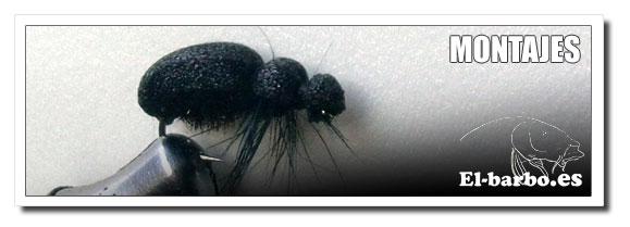 Titulo: Escarabajo de foam para barbos